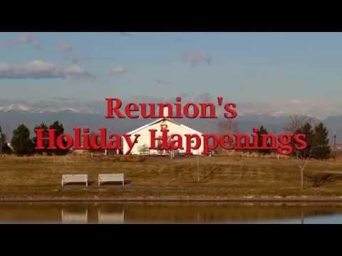 Reunion's Holiday Happenings
