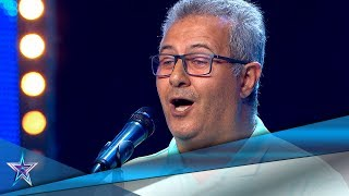 Canta una EMOTIVA COPLA a un AMIGO a punto de morir | Audiciones 6 | Got Talent España 5 (2019)