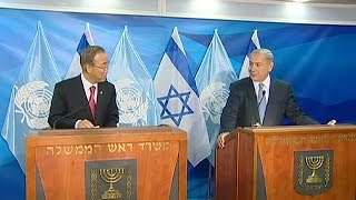 Netanyahu warns Ban Ki-moon premature recognition of Palestinian territories could damage peace…