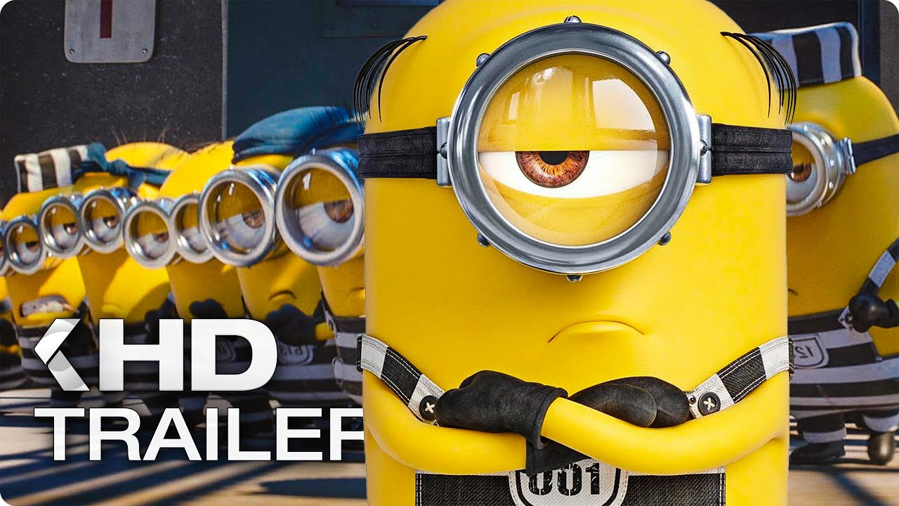 Download DESPICABLE ME 3 ALL Trailer & Clips (2017)