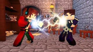 Minecraft: VIRAMOS BRUXOS EM HOGWARTS !! - Aventuras Com Mods #19
