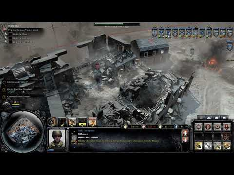 Company of Heroes 2 Ardennes Assault Campaign #15 - St. Vith |