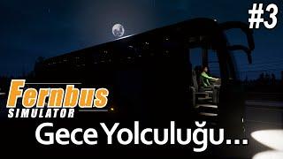 Fernbus Coach Simulator BETA - Gece Otobüs Yolculuğu MAN Lion's Coach (Türkçe #3)