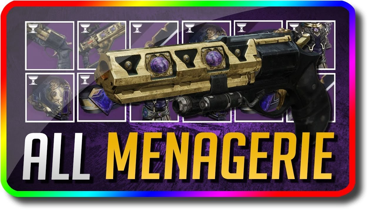 How to get Menagerie Opulent Armor in Destiny 2   HviRAL