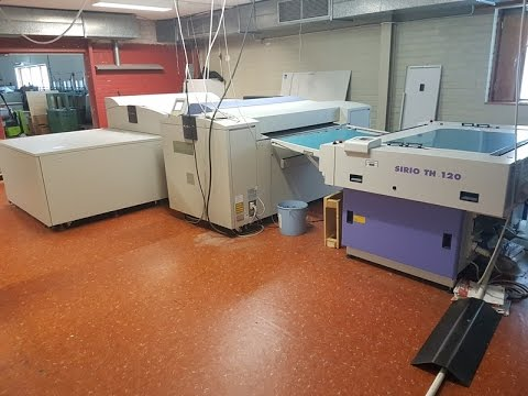 Used Prepress CTP Computer To Plate Used Printing Equipment # Screen 8600 S # 2009