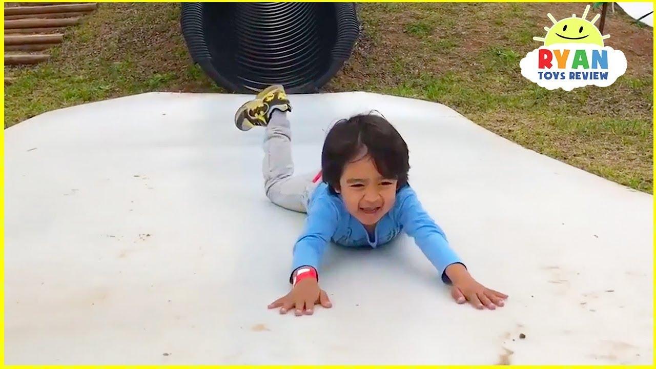 Ryan Pretend Play Dreaming of Fun Kids Adventure!!!