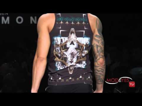 JOHN RICHMOND MAN FASHION SHOW SS 2015 (backstage+interview+runway) HD
