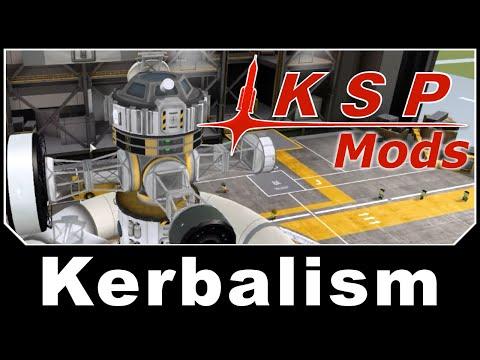 KSP Mods - Kerbalism