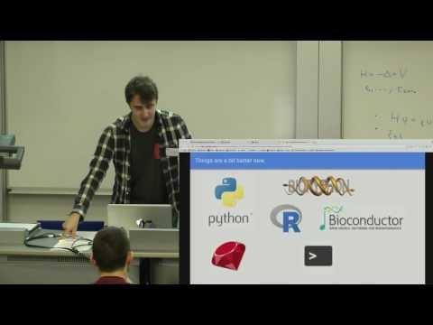 Ben Ward: Julia for Bioinformatics and Computational Biology