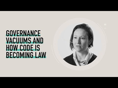 Governance Vacuums and How Code Is Becoming Law