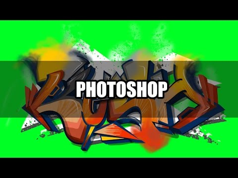 Graffiti Tutorial - How to paint in Photoshop