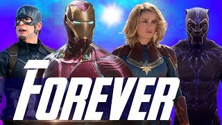 Iron Man & Captain Marvel with The Power to Stop Thanos in Avengers 4?