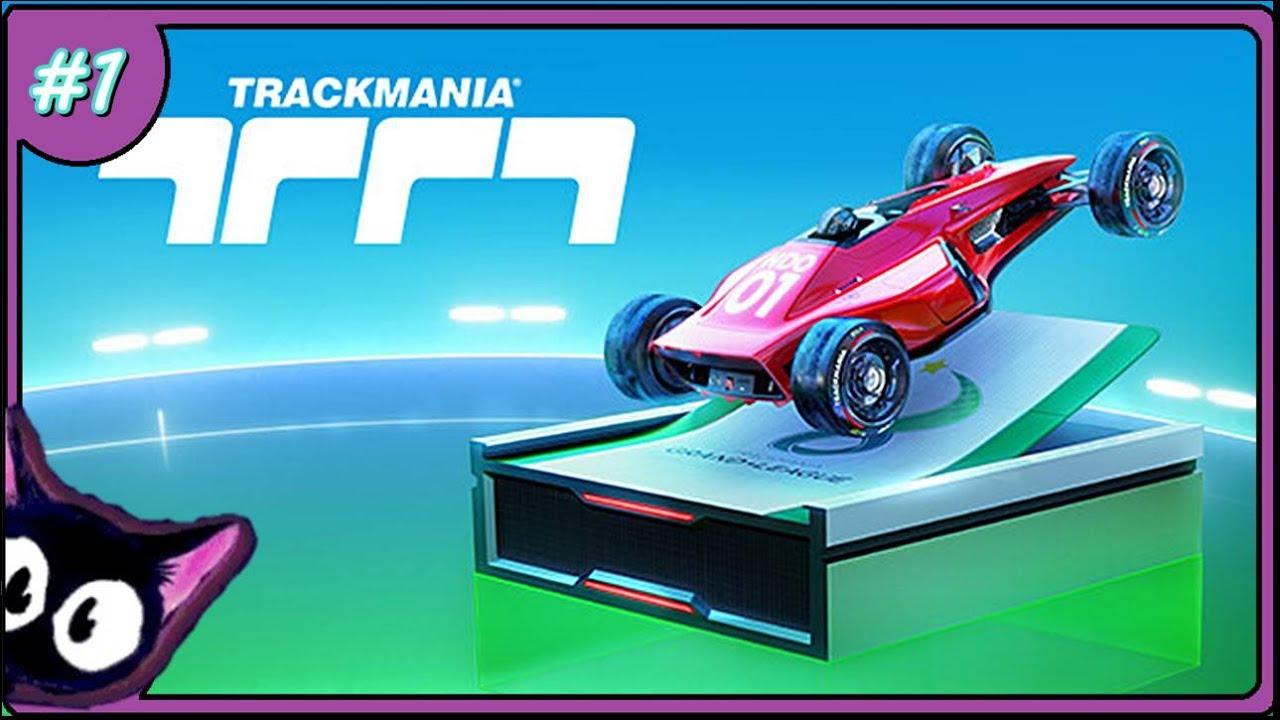 🏆🚥🏁🏎🏎🚩 Trackmania 🔼 PL #1 -  seria wyścigów z remake'em Trackmania Nations.🏆🚥🏁🏎🏎🚩
