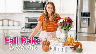 BAKE WITH ME | EASY FALL RECIPES | BEST THREE INGREDIENT COOKIES
