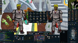 Runescape! Road to Yellow Phat - PvM loot so far!