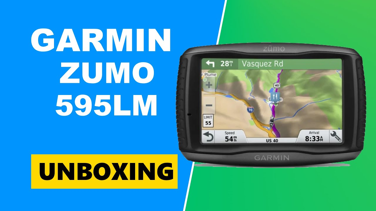 garmin zumo 595lm unboxing hd 010 01603 10 youtube. Black Bedroom Furniture Sets. Home Design Ideas