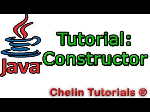 how to create a constructor in java