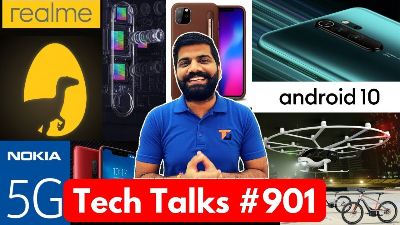 Tech Talks #901 - Realme Gaming Phone, Redmi Note 8 25x Zoom, iPhone 11 Pencil, Nokia 5G, Android 10