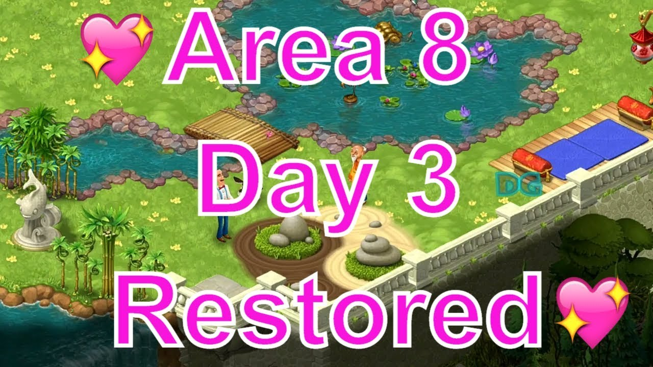 Gardenscapes New Area 8 Day 3 Restored/Top Garden Designing Free Android U0026  Ios Kids Game