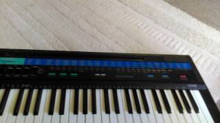 Casio CT-615 demo song