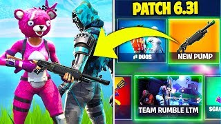 ALL you DON'T KNOW about FORTNITE's NEW PATCH 6.31