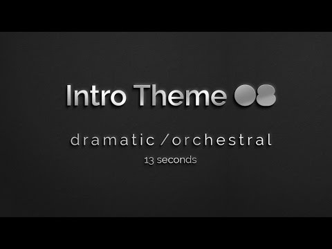 Orchestral Sunset: Free Intro Music 08, time-lapse video)