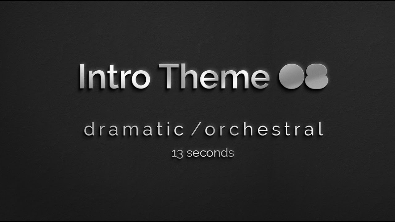 Free Instrumental Music: Short themes for intros, outros, credits