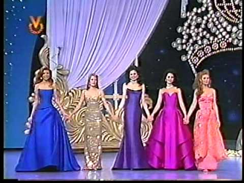 MISS VENEZUELA 1996 CROWNING MOMENT