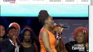 "Yolanda Adams ""Anything You Want"" Kim Burrell Tribute"