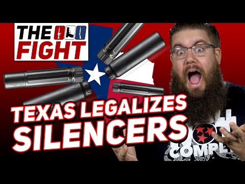 New Law in Texas Deregulates Firearm Suppressors - Fight for Gun Rights!