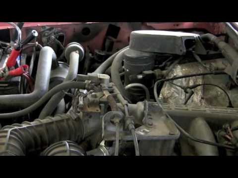1995 F150 Erratic Idle Part 1 YouTube