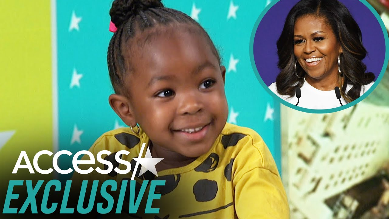 How Michelle Obama Inspired 4-Year-Old Parker Curry To Become Youngest NYT Bestselling Author
