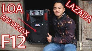 Mở Hộp Loa Bluetooth RONAMAX F12 Mua Trên Lazada | Cuộc Sống Miền Núi Vlogs