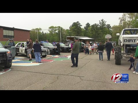 Touch-A-Truck event held at Freetown Elementary