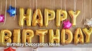 Funny Birthday decoration Ideas