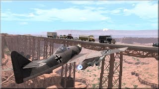 BeamNG Drive Longest Destructible Road Bridge