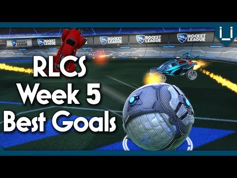 20 Best Goals | Final Week of League Play | Week 5 RLCS Season 5 (NA & EU)