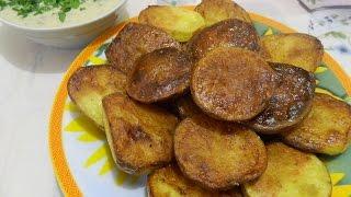 Картофель запечённый в духовке (в кожуре).