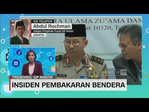 Tanggapan GP Ansor & Muhammadiyah Soal Insiden Pembakaran Bendera