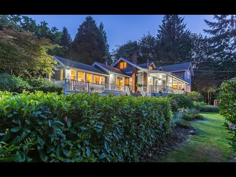 Oceanview Luxury Home In Mill Bay - British Columbia