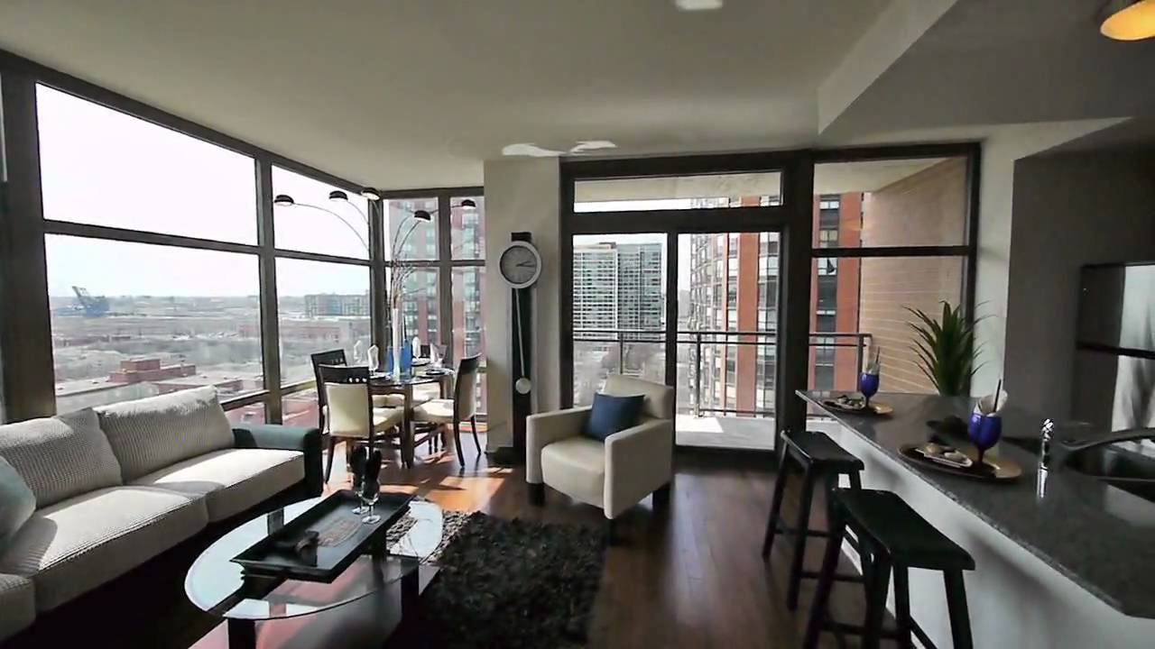 Touring Two 2 Bedroom Models At Astoria Tower Youtube