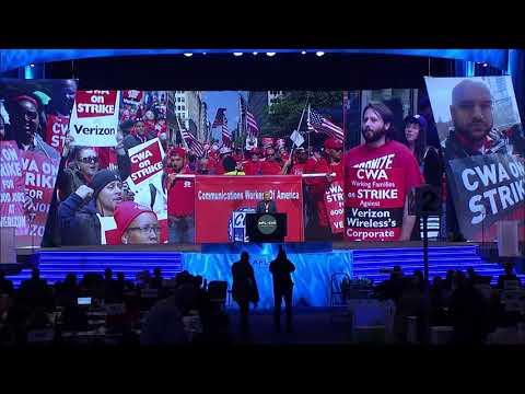 CWA President Chris Shelton | AFL-CIO Convention | CWA Video