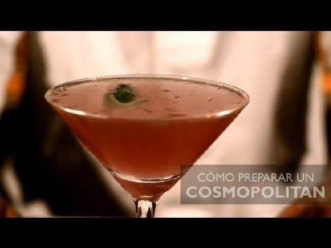Como Preparar un Cosmopolitan : Los Cocteles Mas Populares