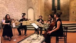 Teaser from the Mozart Clarinet Quintet Concert in Italy