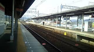 近鉄V04+NS38鳥羽行き特急名張入線