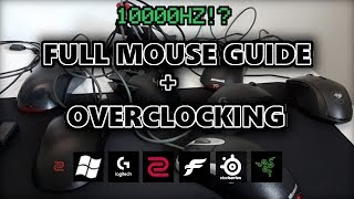 Mouse Settings Optimization And Overclock Guide