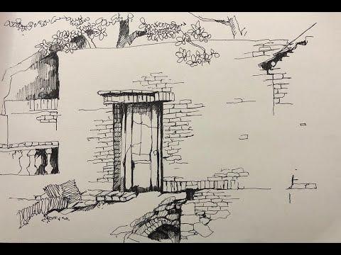 Cách khai thác đối tượng trong vẽ ký họa phong cảnh