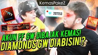 DIBAJAK KEMAS PAKE Z 200.000 DIAMOND GW DIHABISIN AUTO NGAMUK!! - Free Fire Indonesia #74 thumbnail