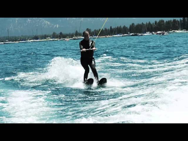 Water Skiing in Tahoe - Kelly