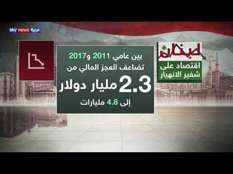 لبنان.. اقتصاد على شفير الانهيار  - 17:54-2019 / 5 / 16